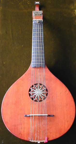 Early Musical Instruments part of the Bruderlin Collection, antique English Guitar by Preston London