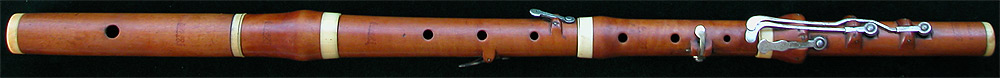 Early Musical Instruments, antique boxwood Flute by Potter