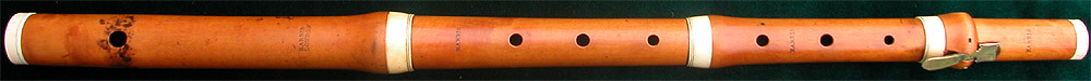 Early Musical Instruments, antique boxwood Flute by Harris