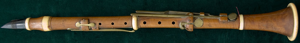 Early Musical Instruments, antique Clarinet by Wood & Ivy