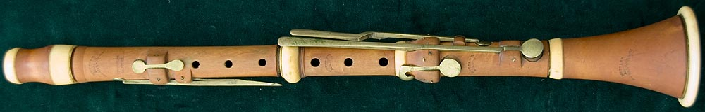 Early Musical Instruments, antique Clarinet by Metzler