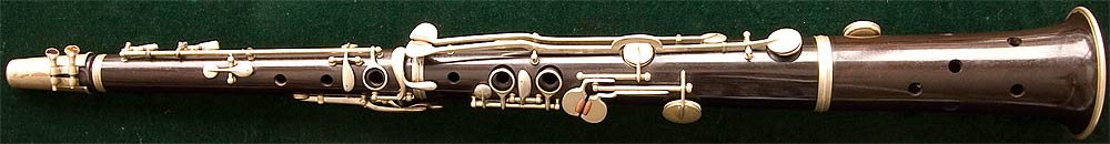 Early Musical Instruments, antique Tarogato by Sternberg