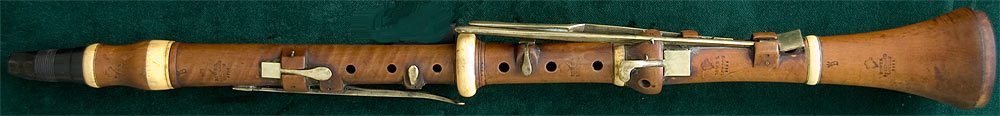 Early Musical Instruments, antique Clarinet by James Power