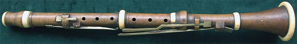 Early Musical Instruments, antique Clarinet by John Preston