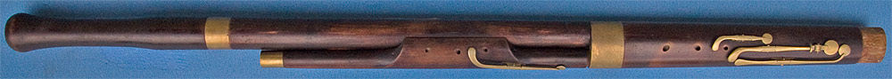 Early Musical Instruments, antique Bassoon by Bilton