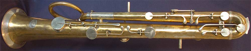 Early Musical Instruments, antique Ophicleide by Henry Smith