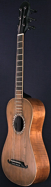 Early Musical Instruments part of the Bruderlin Collection part of the Bruderlin Collection, antique Romantic Guitar by Philippus Guarmandi dated 1804