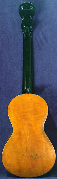 Early Musical Instruments part of the Bruderlin Collection, antique Romantic Guitar by Anonymous around 1820
