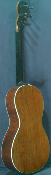 Early Musical Instruments part of the Bruderlin Collection, antique Romantic Guitar by Claude Humel around 1820