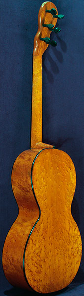 Early Musical Instruments part of the Bruderlin Collection, antique Romantic Guitar by Dubois around 1830