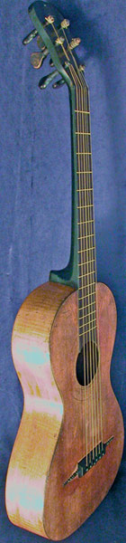 Early Musical Instruments part of the Bruderlin Collection, antique Romantic Guitar by Goulding & Co 1840s