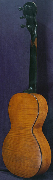Early Musical Instruments part of the Bruderlin Collection, antique Romantic Guitar by Anonymous 1810s