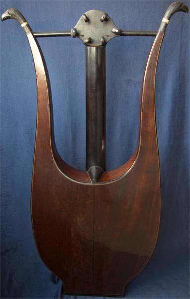 Early Musical Instruments part of the Bruderlin Collection, antique Lyra Guitar by Pons dated 1807