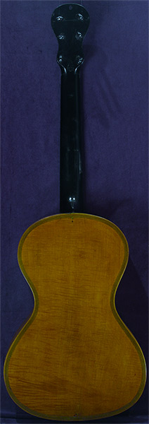 Early Musical Instruments part of the Bruderlin Collection, antique Romantic Guitar by Stephan Thumhart dated 1820