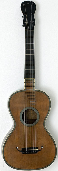 Early Musical Instruments part of the Bruderlin Collection, antique Romantic Guitar, Anonymous, French around 1820