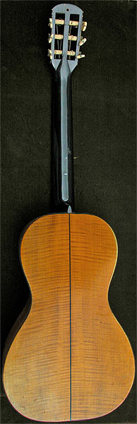 Early Musical Instruments part of the Bruderlin Collection, antique Romantic Guitar by Panormo 1827