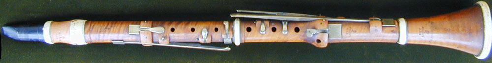 Early Musical Instruments, antique Clarinet by Key