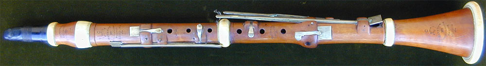 Early Musical Instruments, antique Clarinet by Garrett