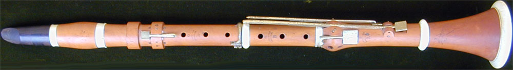 Early Musical Instruments, antique Clarinet by B. Scott, Fils