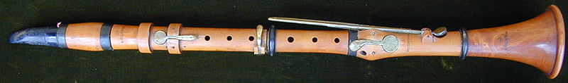 Early Musical Instruments, antique Clarinet by Kretzschman